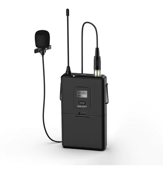 Microfone Uhf Sem Fio De Lapela 20-channel Fifine 20-channel