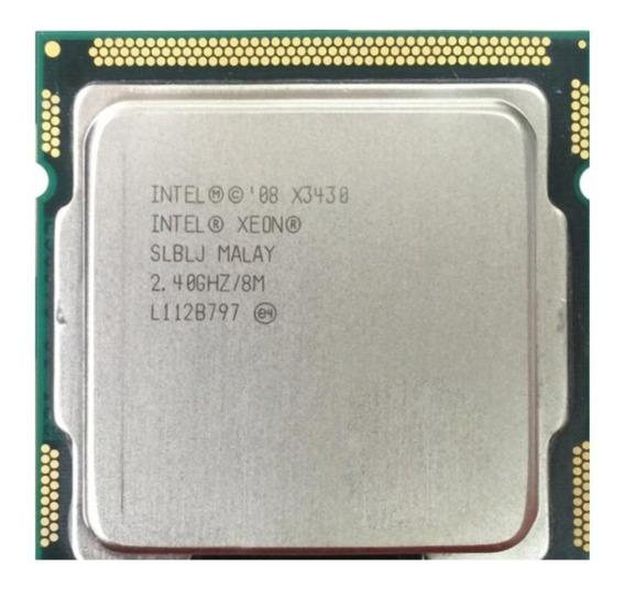 Processador Intel Xeon X3430 = I7 870 Lga 1156 + Brinde