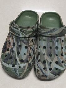 Zapatos Crocs Camuflada