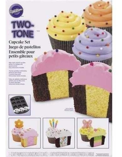 Molde Metal Para Cupcakes Con Accesorio 12 Piezas Wilton