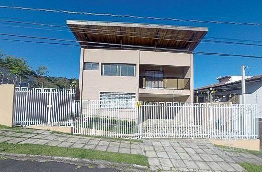 Sobrado Com 3 Dormitórios À Venda, 192 M² Por R$ 900.000 - Aristocrata - São José Dos Pinhais/pr - So0173