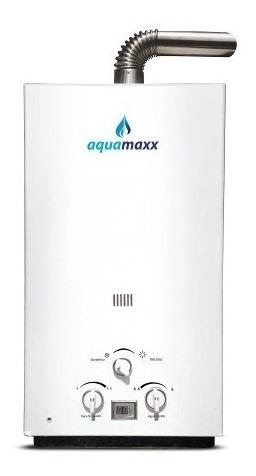 Terma A Gas Natural 10 Litros - Tiro Forzado - Aquamax   Mercado Libre