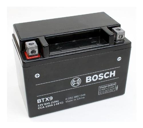 En Cuotas Bateria Ytx9 Bs Bosch Btx9 12v 8ah (151 * 88 * 107