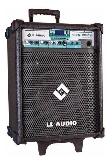 Caixa De Som Amplificada Multiuso Stone 250 C/ Microfone