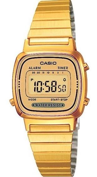 Reloj Casio La 670wga 9d Vintage Retro 100% Original