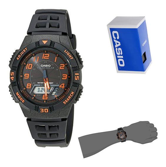 Reloj Casio Aq-s800w-1b2 Original Para Hombre E-watch