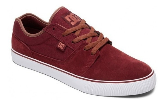 Zapatillas Dc Shoes Mod Tonik Tx Bordo Coleccion 2019