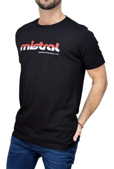 Remera Manga Corta Estampada | Mistral (10040)