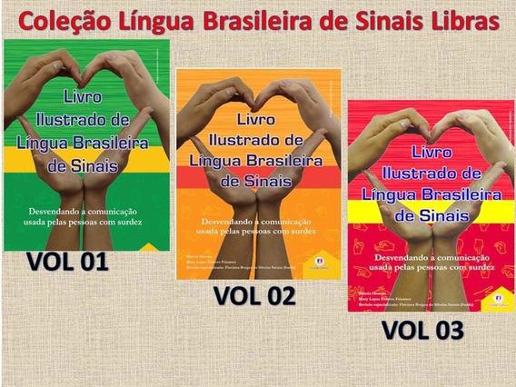 Kit Libras Livro Ilustrado Lingua Brasileira Sinais + Brinde