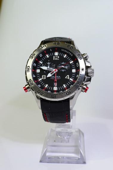 Relógio De Pulso Nautica A34507 Máquina Suíça