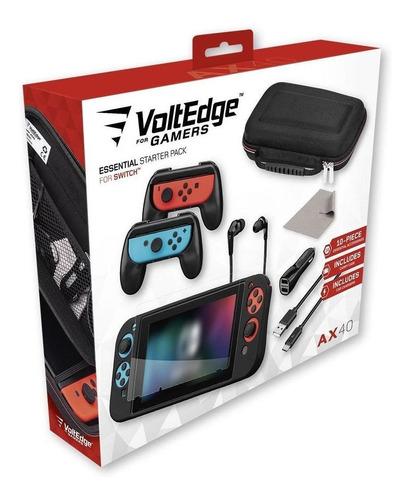 Essential Starter Pack - Kit Accesorios Para Nintendo Switch