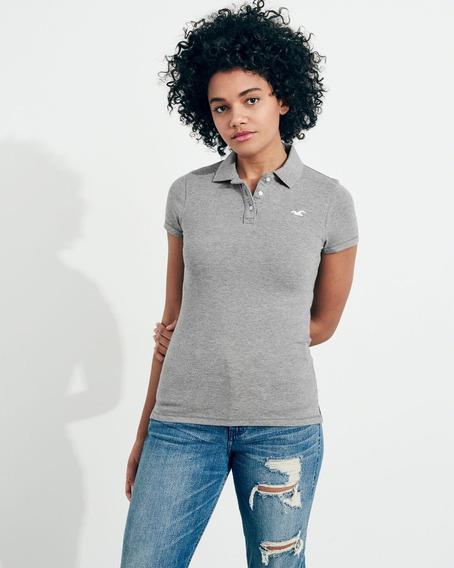 Camiseta Hollister Feminina Original Polo Camisas Importadas