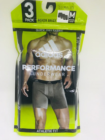Cueca adidas Boxer Brief Performance Underwear Athletic Fit