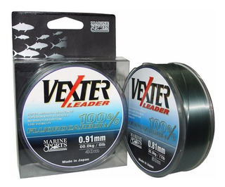 Linha Fluorcarbono Vexter Leader Marine Sports 0,52mm 33lb