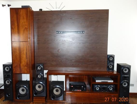 Home Theater Sony Muteki Ht-ddw7000 (receiver E Caixas)