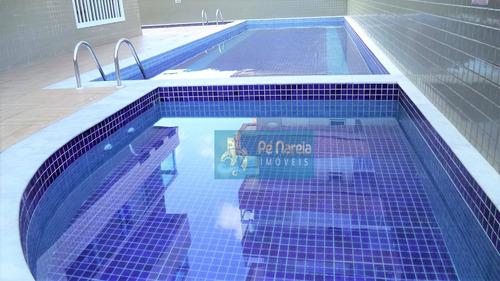 Imagem 1 de 30 de Apartamento Com 2 Dormitórios, 83 M² - Venda Por R$ 430.000  - Canto Do Forte - Praia Grande/sp - Ap0743