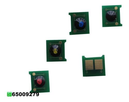 Pack De 4, Chip Para Tóner Color Ce320a,21,22,23
