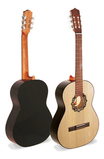 Guitarra Criolla Clasica Fonseca 25 Mate Estudio - Oddity