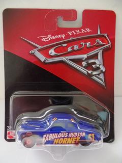 Miniatura Disney Pixar Cars Carros 3 Hudson Hornet 51 Novo