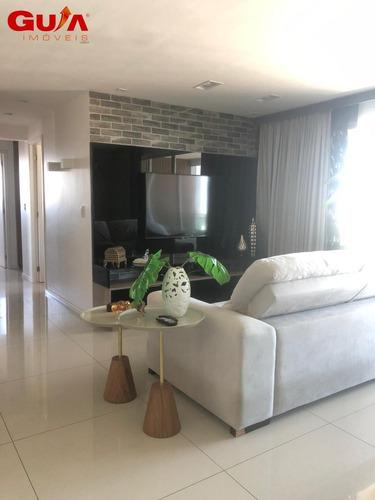 Imagem 1 de 15 de Apartamento Com 03 Suítes À Venda Na Aldeota - 1724