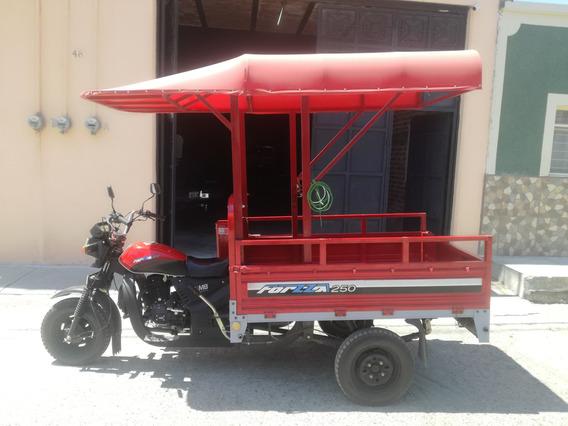 Motocarro Forzza 250cc Arranque Eléctrico Y De Crank