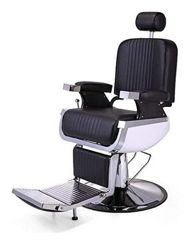 Imagen 1 de 6 de Silla Barbershop Barberia Barbero Peluquero Estetica Lujo