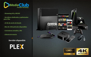 Demo Biblioteca Plex - Calidad Bluray