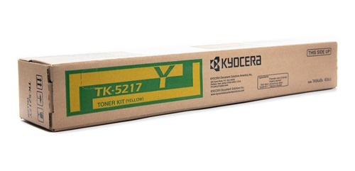 Imagen 1 de 1 de Toner Tk-5217y Kyocera Original Para Ta 406ci