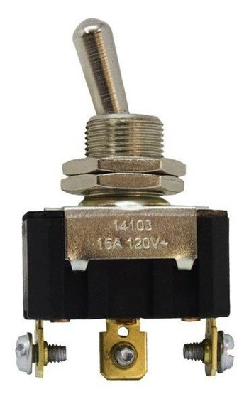 Chave 14103 Interruptor Alavanca Unipolar Reversora 15a 3 Po