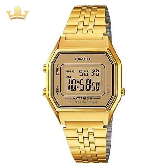 Relógio Casio Feminino La680wga 9df - Vintage Com Nf