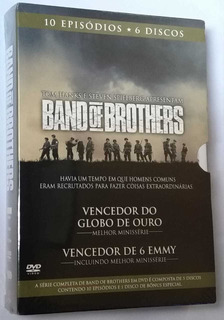 Band Of Brothers - A Série Completa - Box 6 Dvds - Lacrado