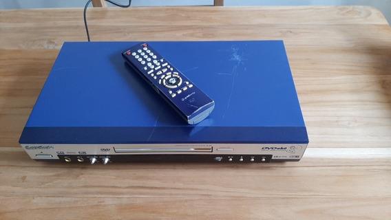 Karaoke/dvd/vcd/cd Player K-35 Gradiente No Estado