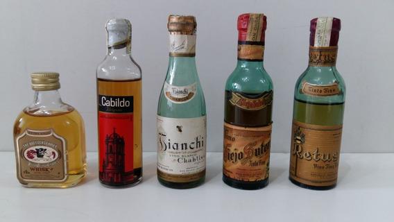 Botellitas Para Colección - Avellaneda