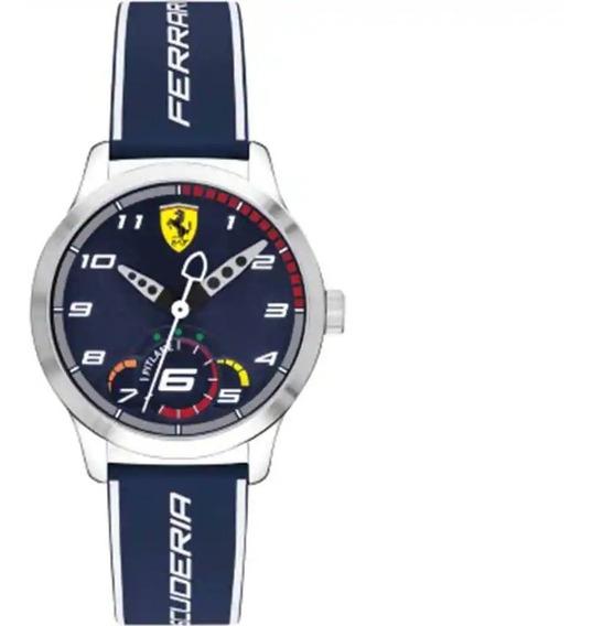 Reloj Ferrari Azul Caballero
