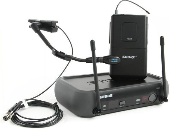 Micrófono Pgx14/beta 98h-j6 Sistema Inalámbrico Shure