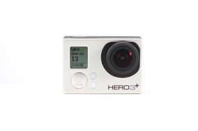 Gopro Hero 3+ Silver Edition (semi-nova)