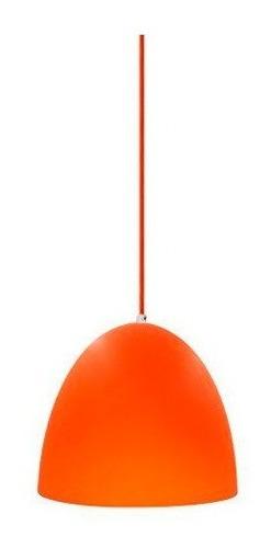 Artefacto Colgante Color Naranja G9 40w