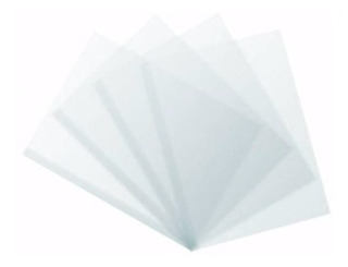 Acetato Simil Lama De 50 X 70 Cm. Cristal X 10 Planchas