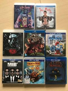 Filmes Em Bluray 3d (katy Perry Premonição Smurfs Mib Jack)