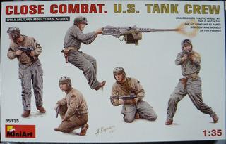 Miniart 1/35 35135 Us Tank Crew Close Combat