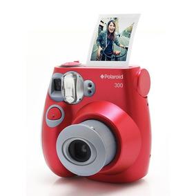 Câmera Polaroid Instantânea Pic 300 Vermelha