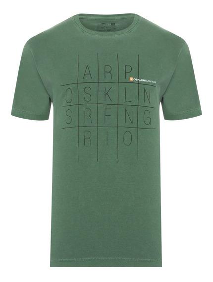 Camiseta Masculina Osklen Stone