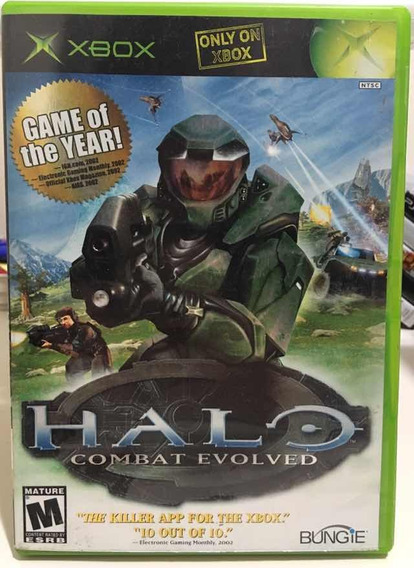 Halo Combat Evolved Game Of The Year Microsoft Xbox