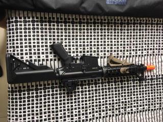 M4a1 Full Metal+case Rossi+magpul Ms3+carregador