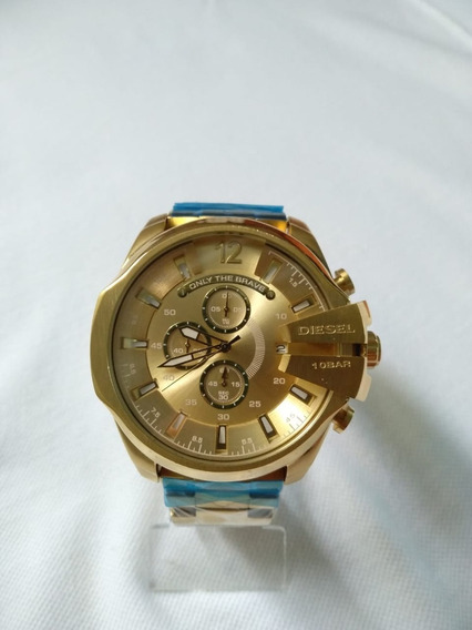 Relógio Diesel Dz-4360 Gold, A Pronta Entrega!