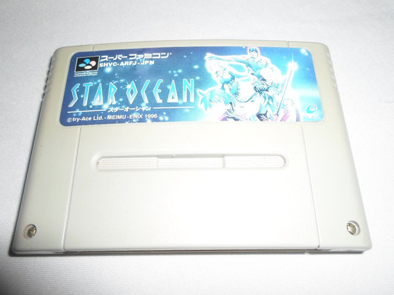 Star Ocean Rpg Original Para Snes Super Nintendo