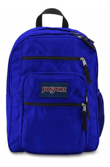 Mochila Jansport Big Student 34lts Original Azul