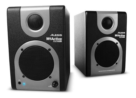 Monitor De Audio Alesis M1 Active 320 Usb