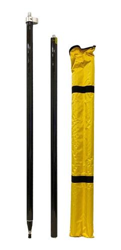 Baston De Fibra De Carbono De 2m Para Gps Gnss Rtk
