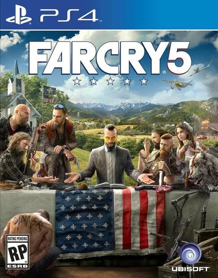 Jogo Far Cry 5 Nacional Lacrado Br - Ps4
